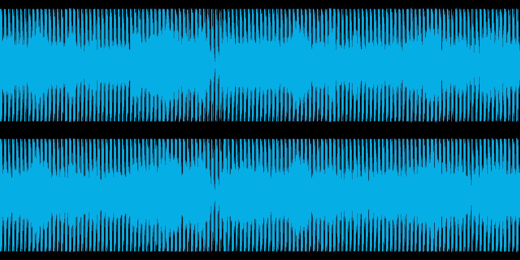 機械的連続音楽 次第に音色がかわっていくの再生済みの波形