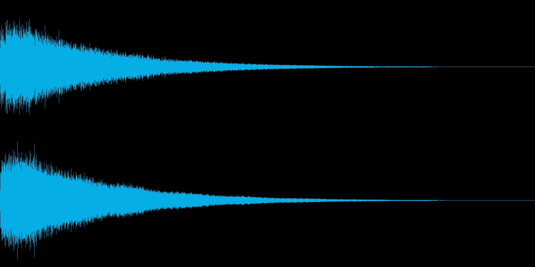 【チャイナシンバル ゴング】中国演出!5の再生済みの波形