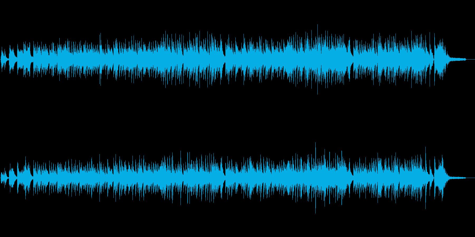 どこか懐かしい、ほのぼのとした和風ピアノの再生済みの波形