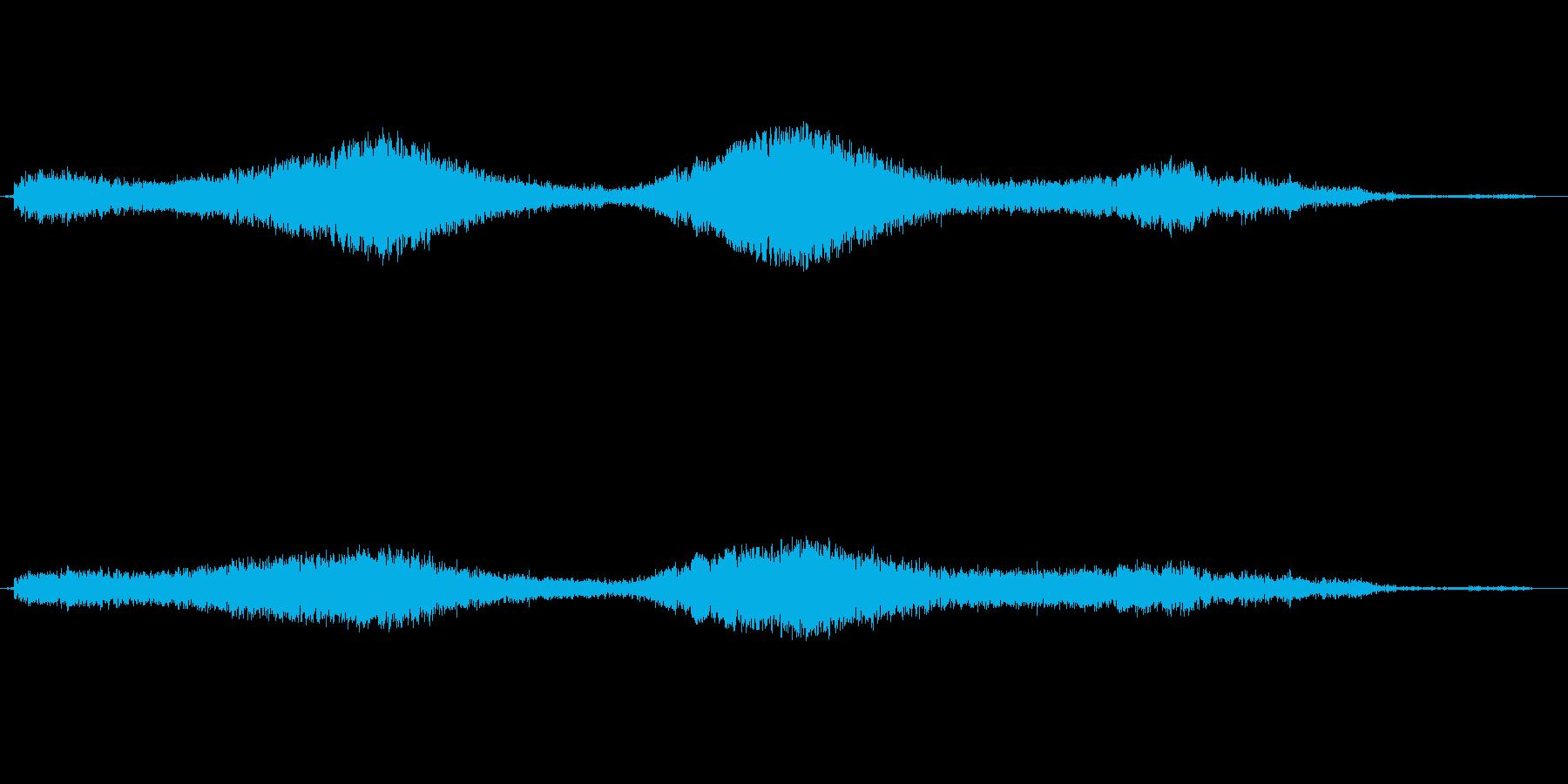 しゅいーんの再生済みの波形