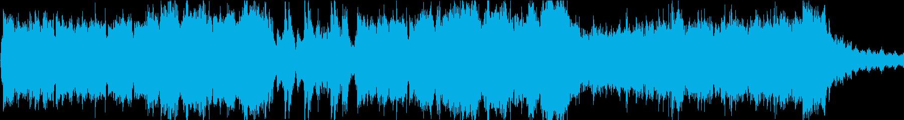 ボス戦に最適なバトル曲[ループ]の再生済みの波形