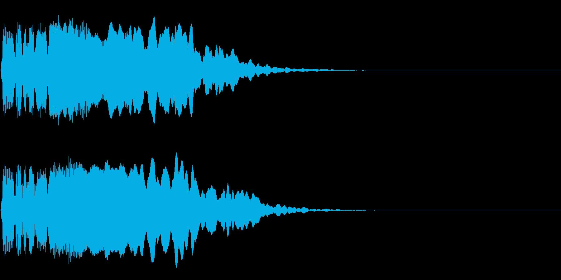 起動音、決定音、アイテム入手などの再生済みの波形