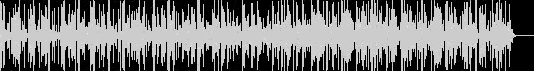 映像向けのエレクトロニック系BGMの未再生の波形