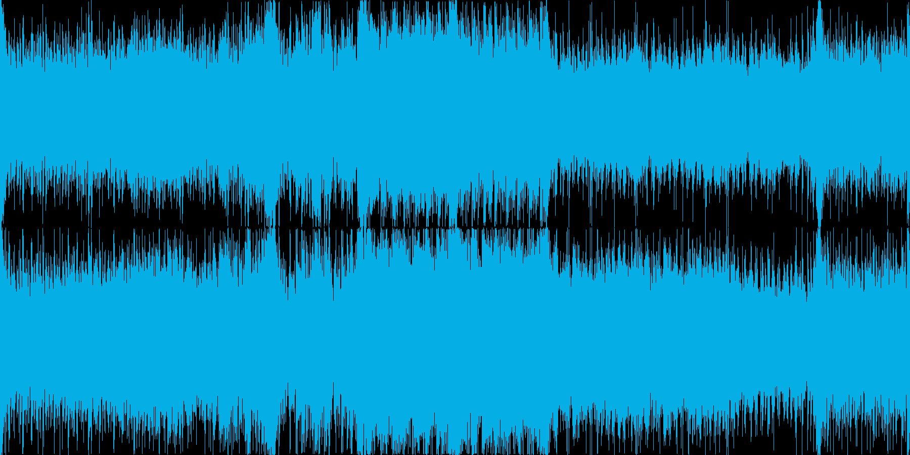 壮大で激しく悲しい戦闘曲/ループ可の再生済みの波形