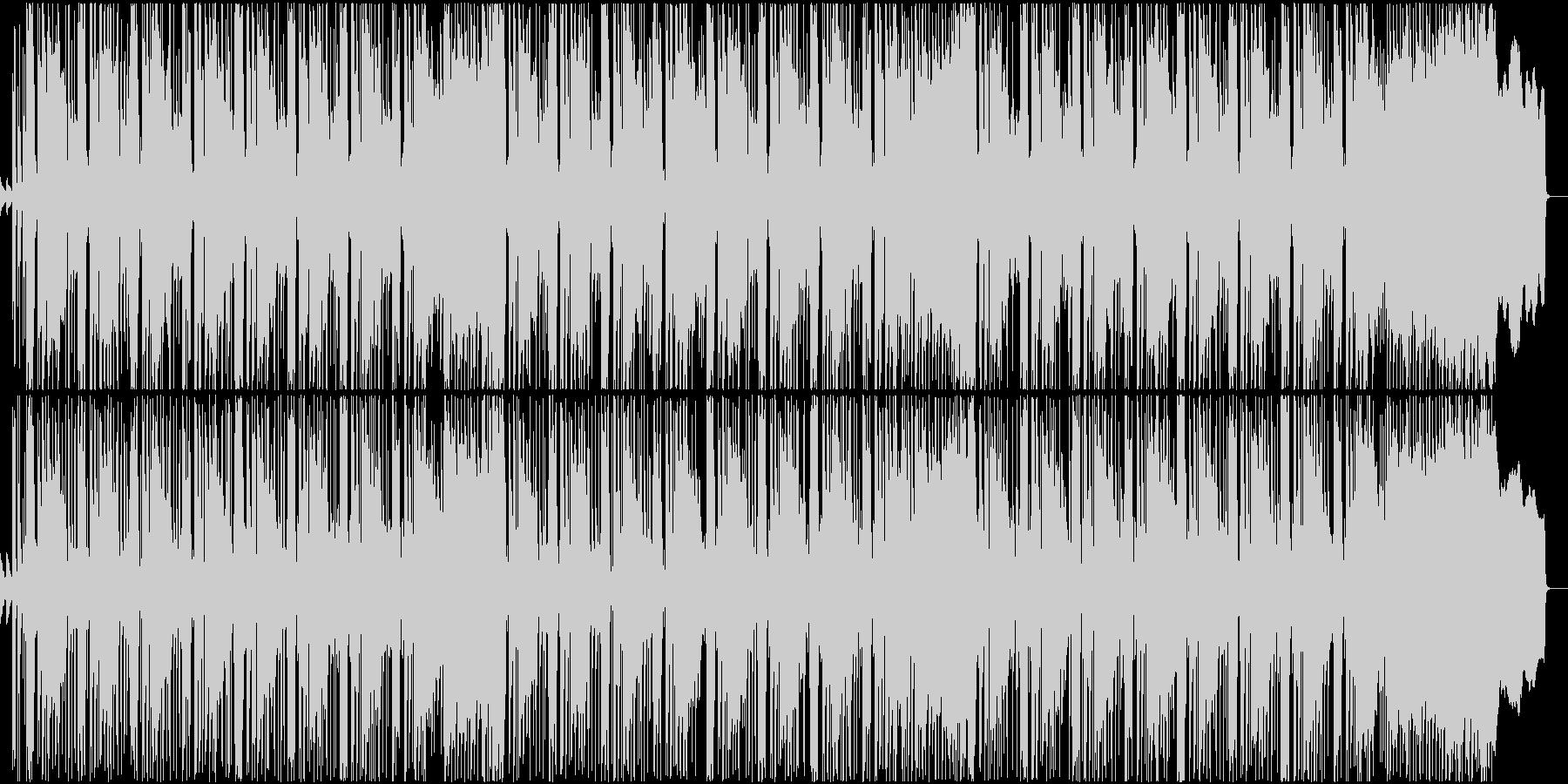 ダンサブルなミクスチャーロックサウンドの未再生の波形