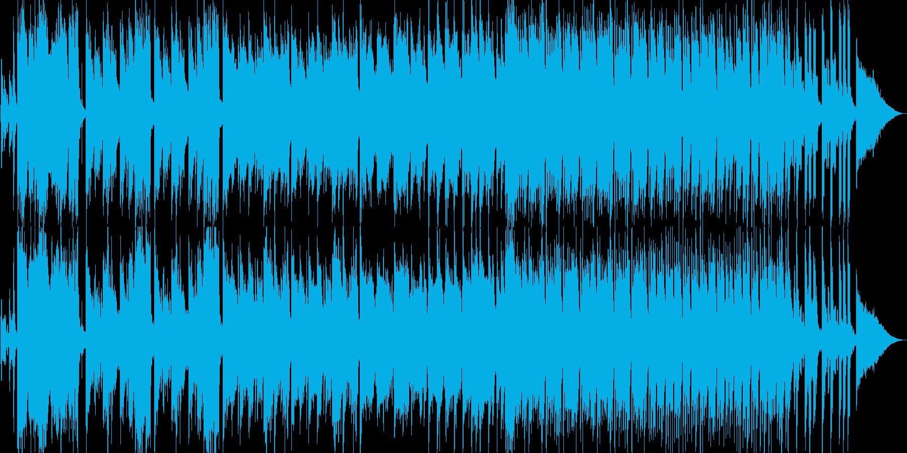 純和風なオープニング田舎で琴で和太鼓の再生済みの波形