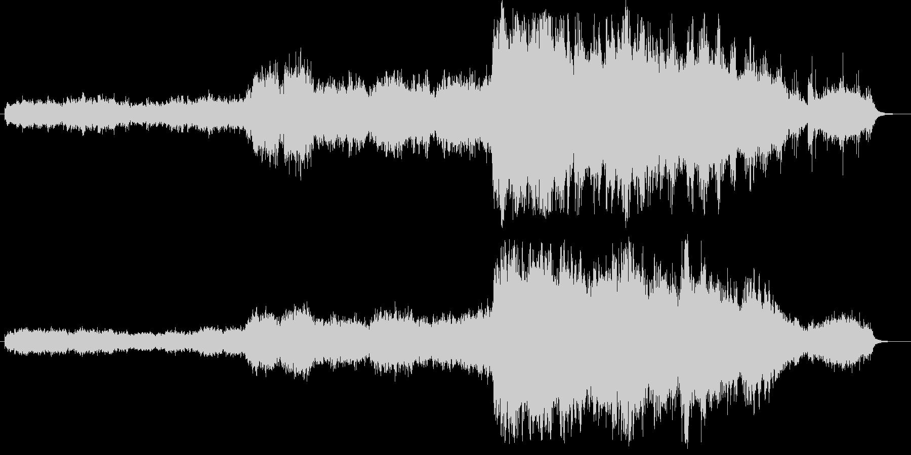 ファンタジーRPGのプロローグをイメー…の未再生の波形