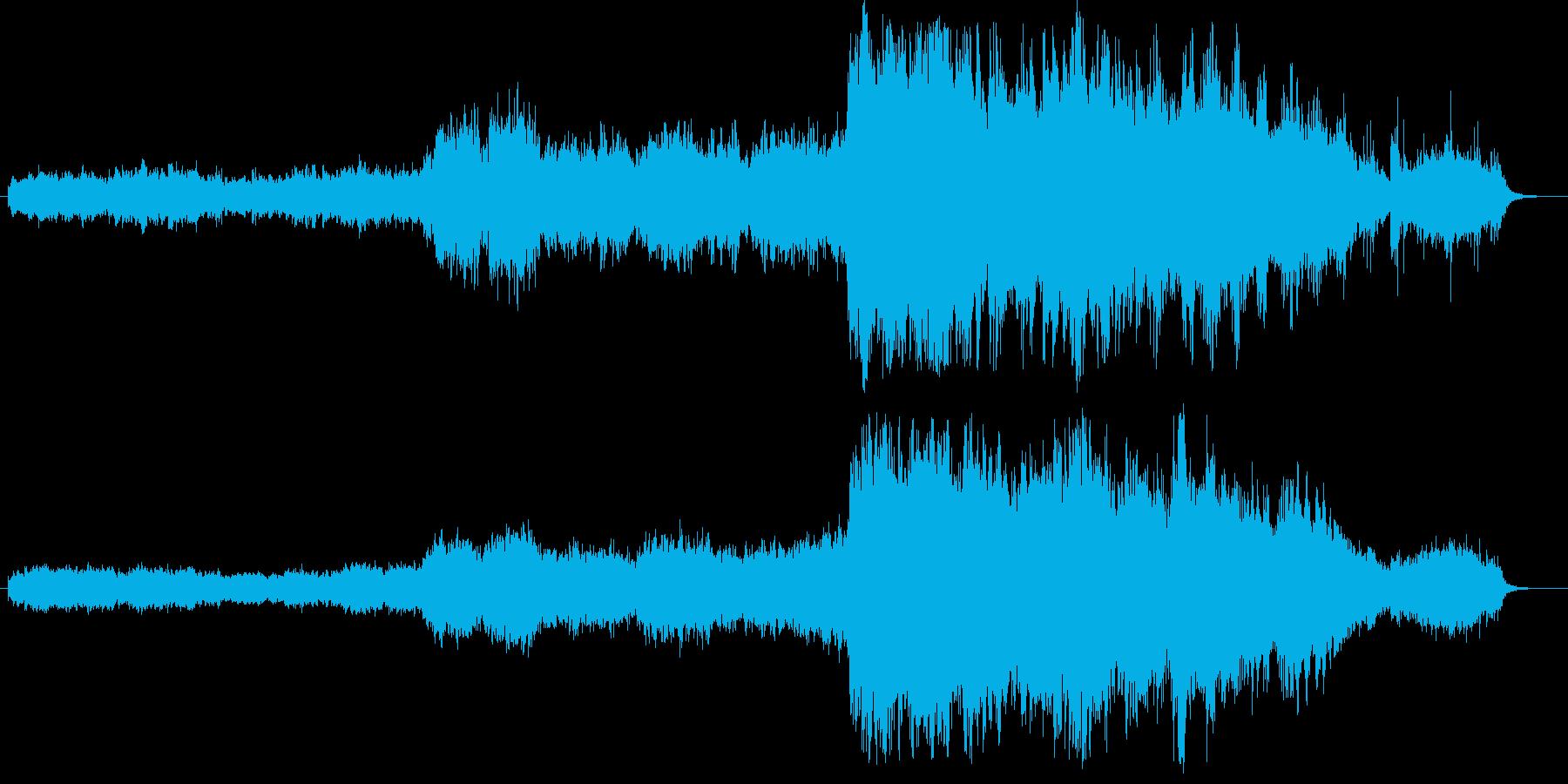 ファンタジーRPGのプロローグをイメー…の再生済みの波形