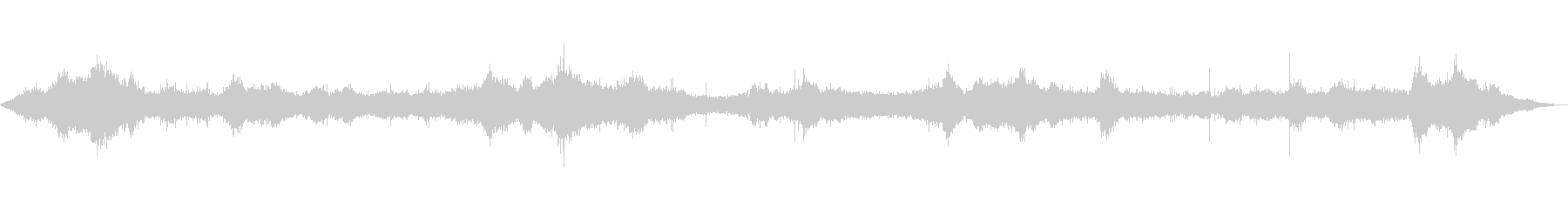 【自然音】波の音02(八丈島)の未再生の波形