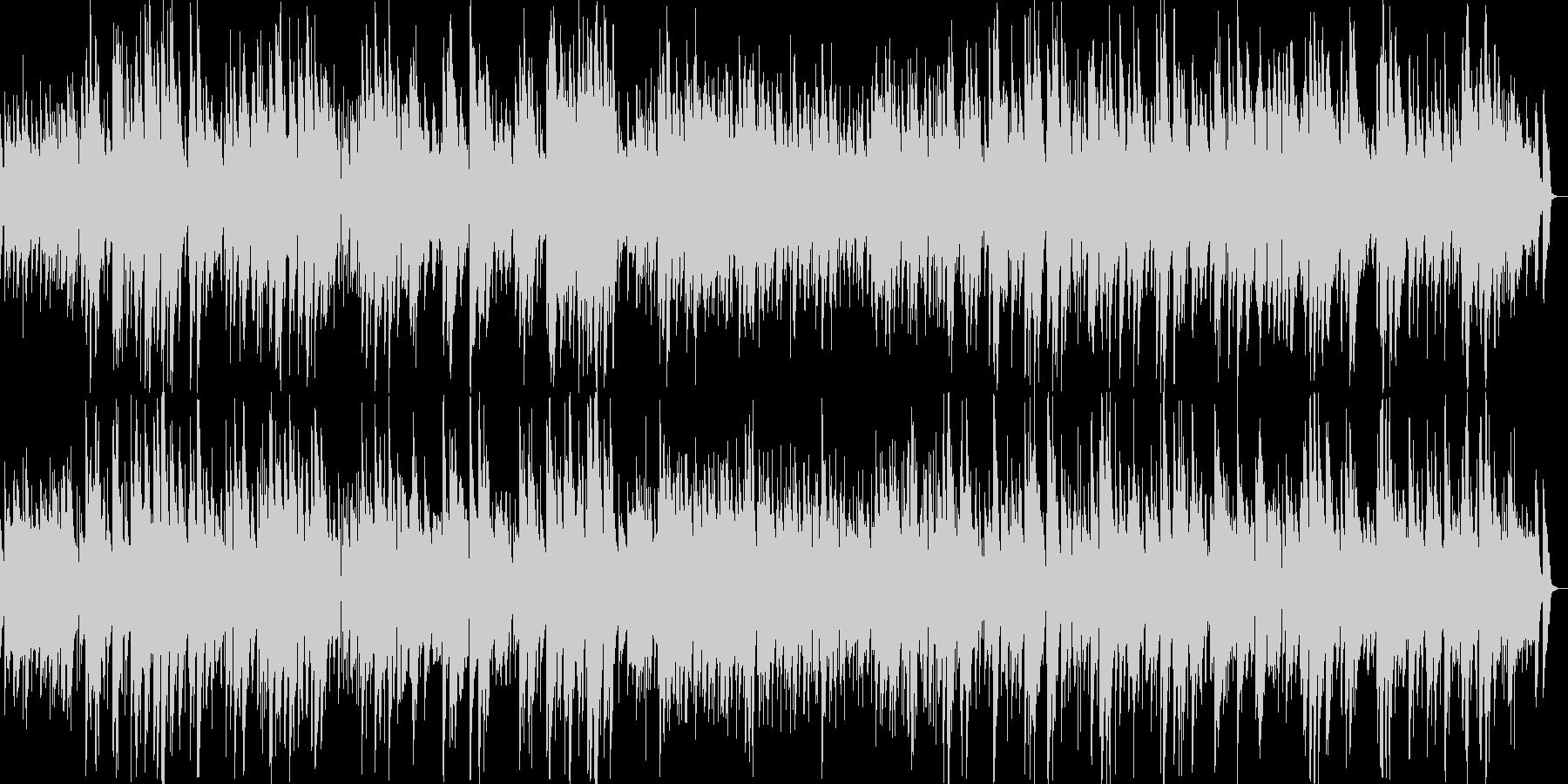 深夜のゆったりジャズの未再生の波形