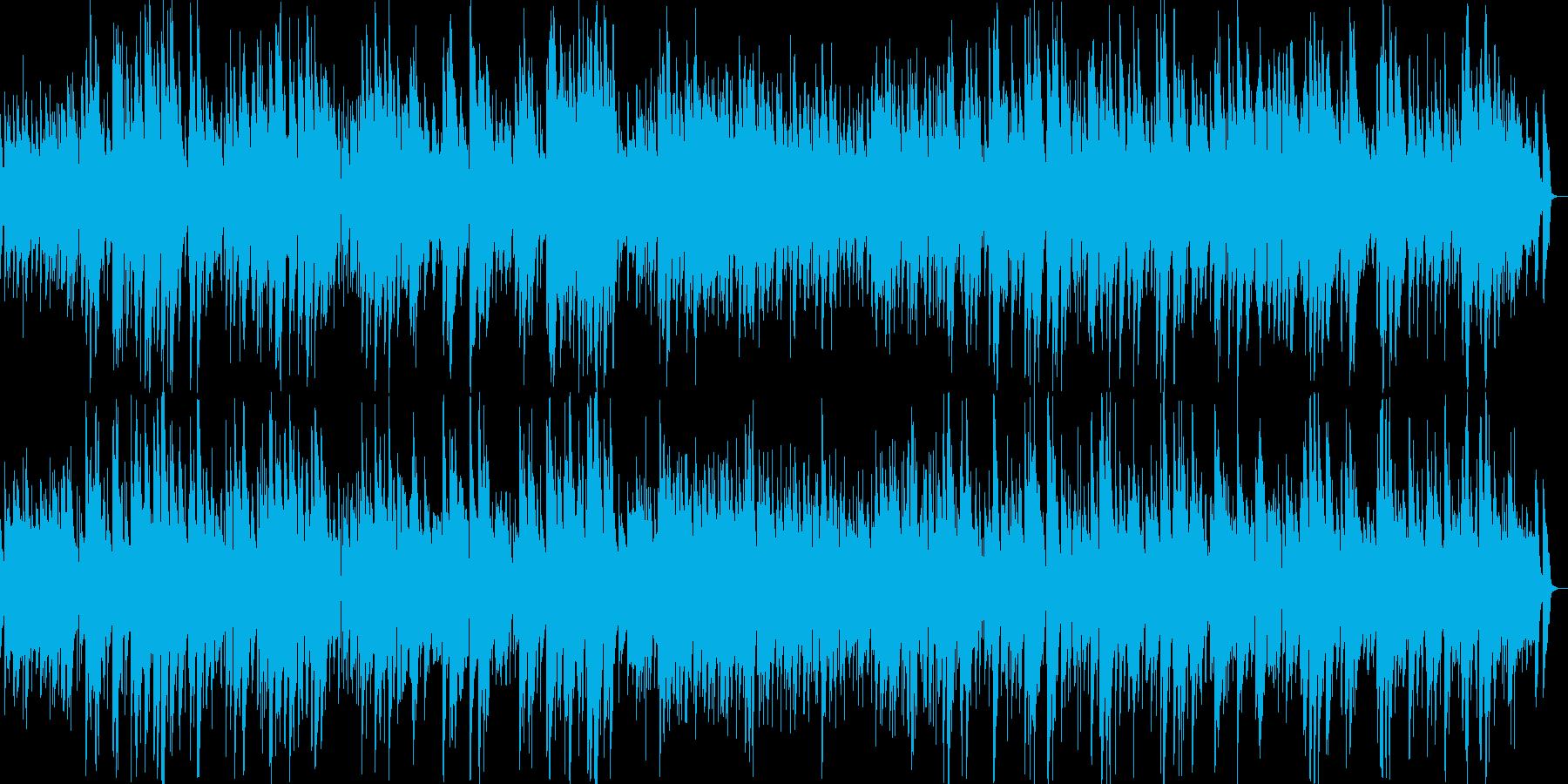 深夜のゆったりジャズの再生済みの波形