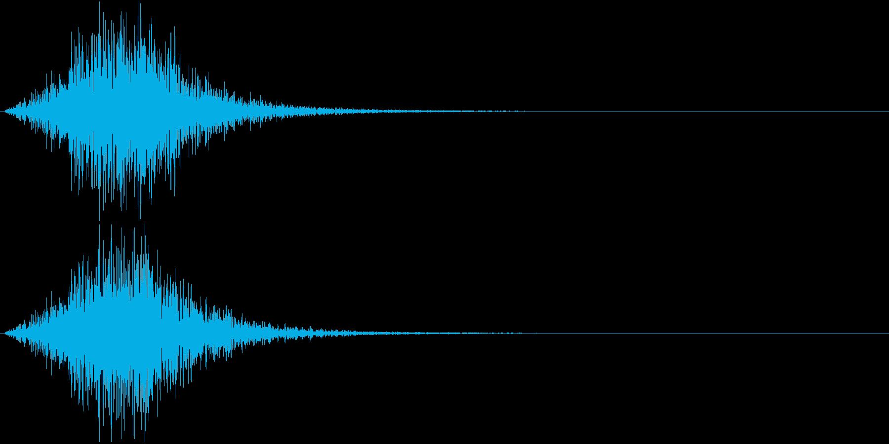Battle 戦闘エフェクト音 12の再生済みの波形