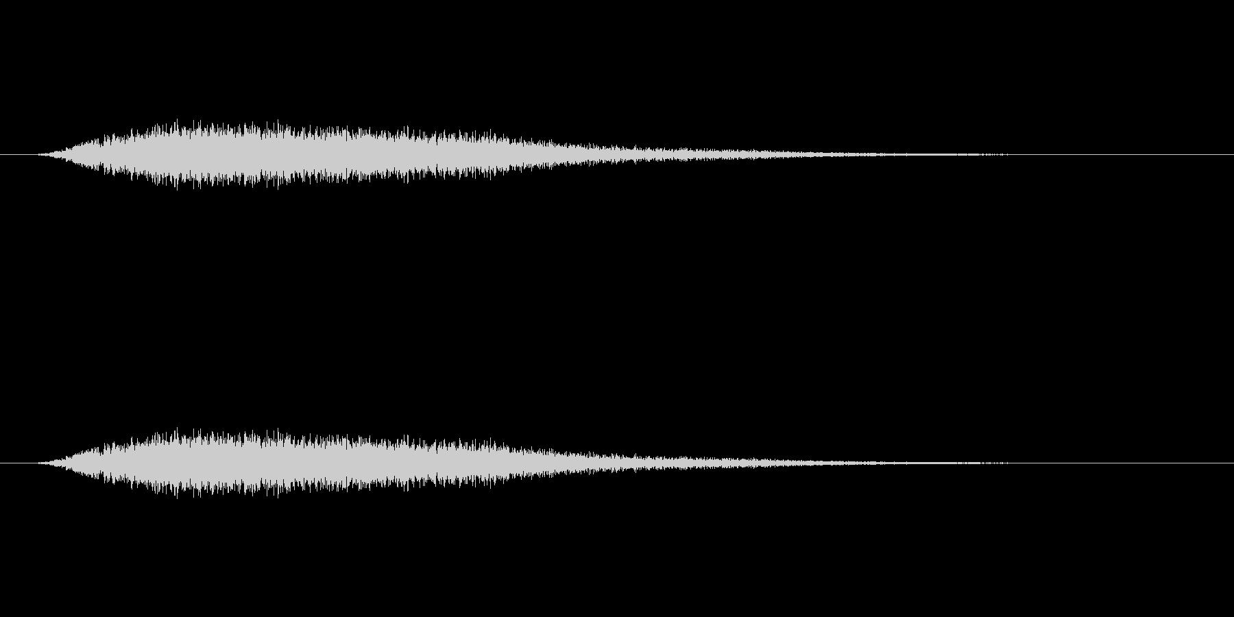 【風 合成02-1】の未再生の波形