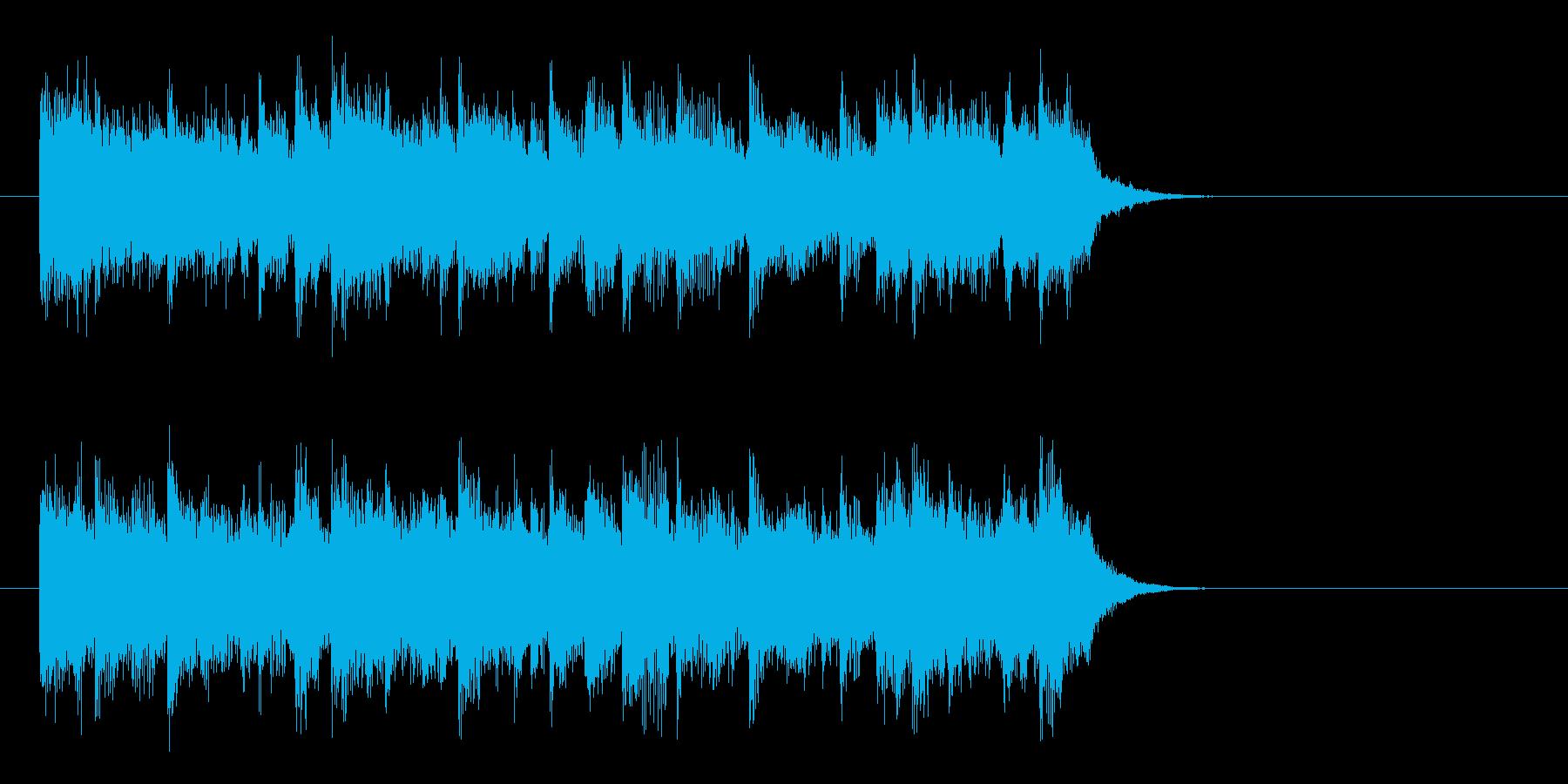 優しい陽射しのポップス(イントロ)の再生済みの波形