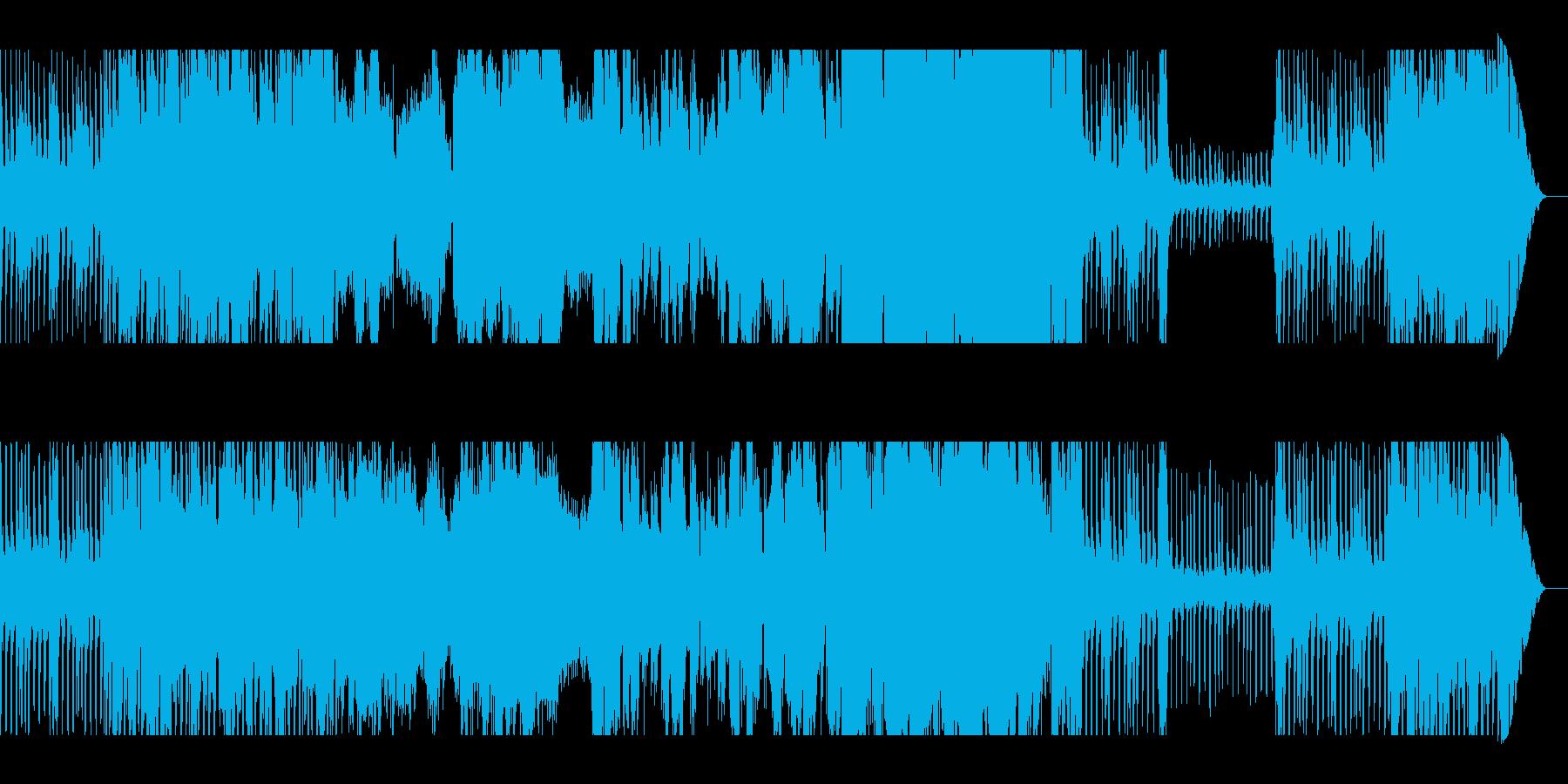 ゲームフィールドに合いそうな曲の再生済みの波形