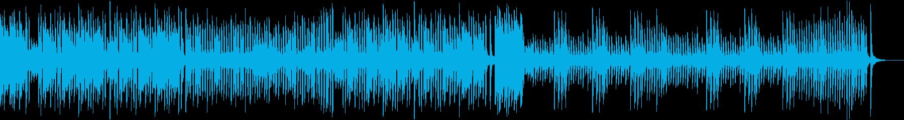 ラグタイム/料理/日常/楽しい/ピアノの再生済みの波形