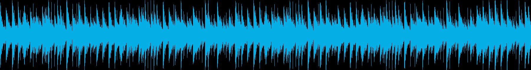 ゲーム向け。ダンジョンに使えるBGM(ルの再生済みの波形