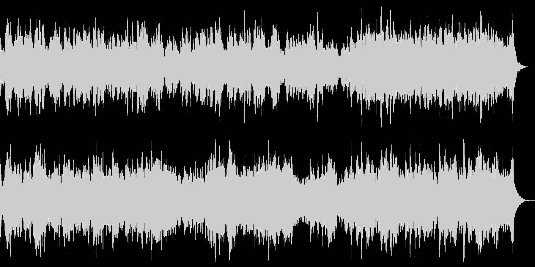 ハープだけのかわいい明るい曲です。の未再生の波形