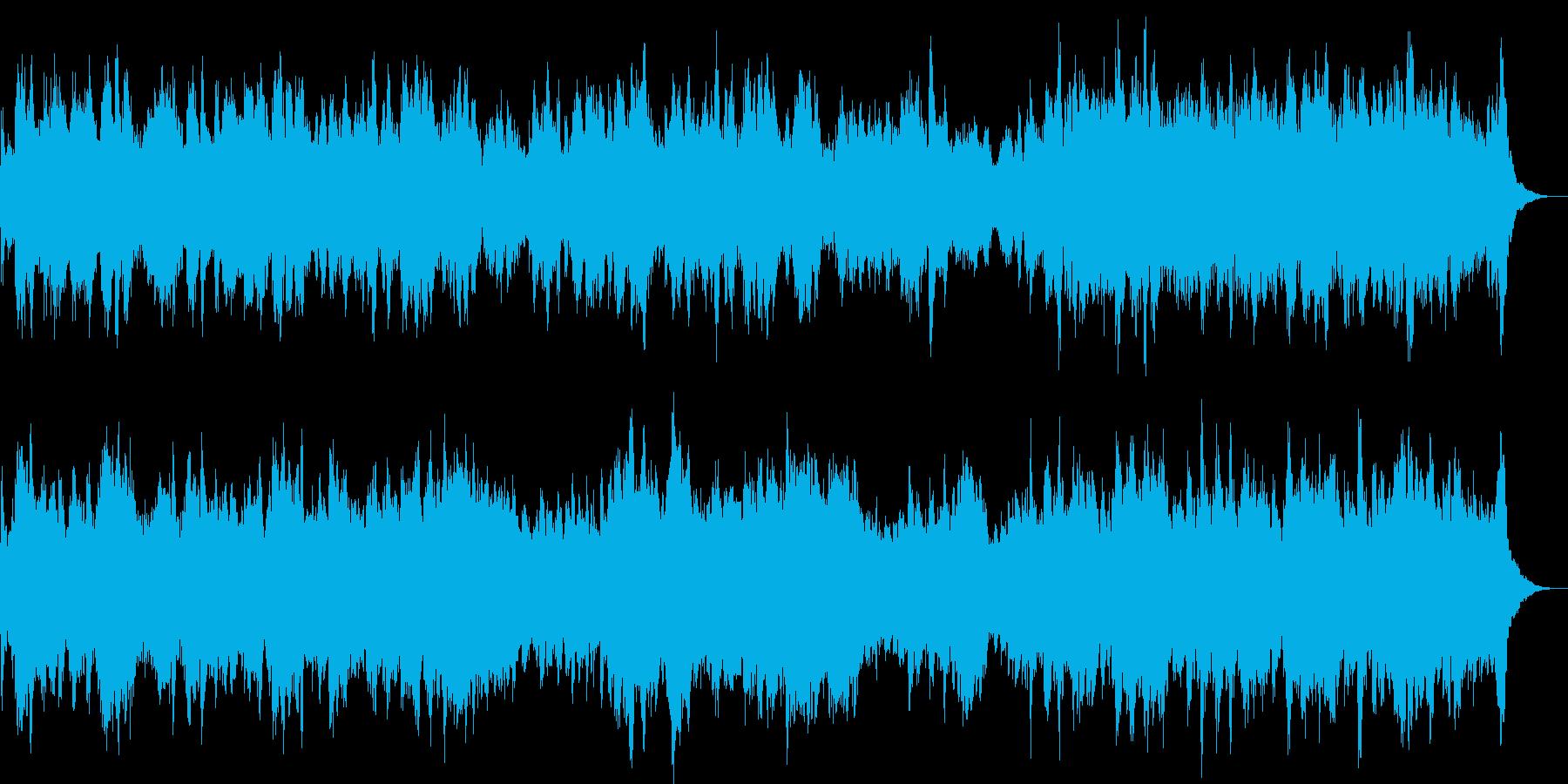 ハープだけのかわいい明るい曲です。の再生済みの波形
