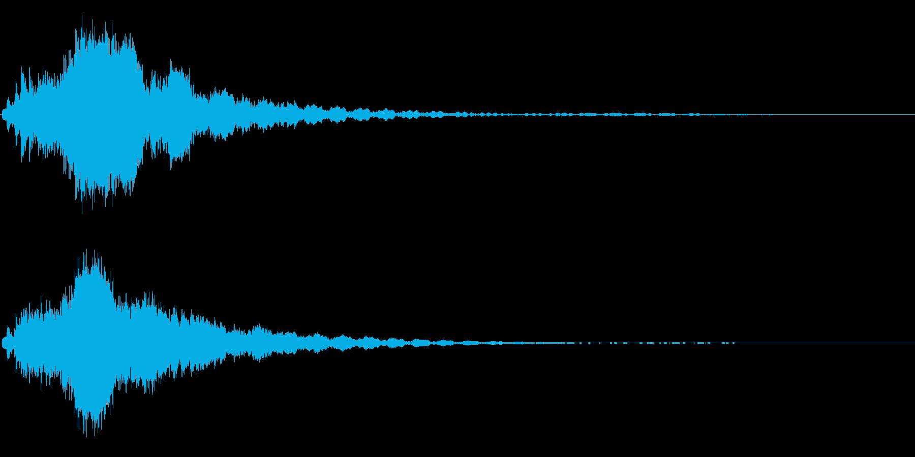 キラキラ☆ピキーン!(星の輝きや魔法)2の再生済みの波形