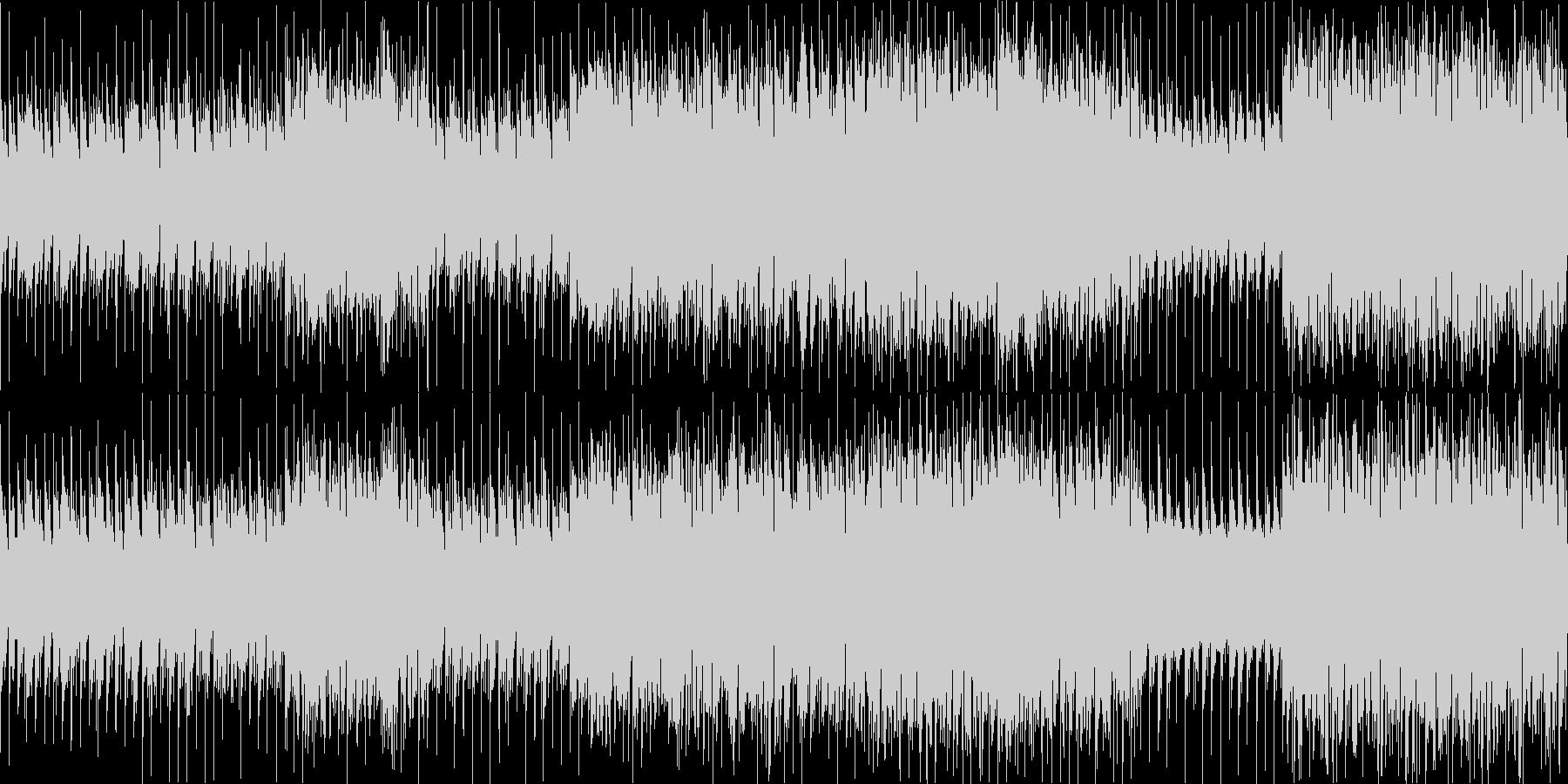 【ループ用】ダンジョン等、ゲームBGMの未再生の波形