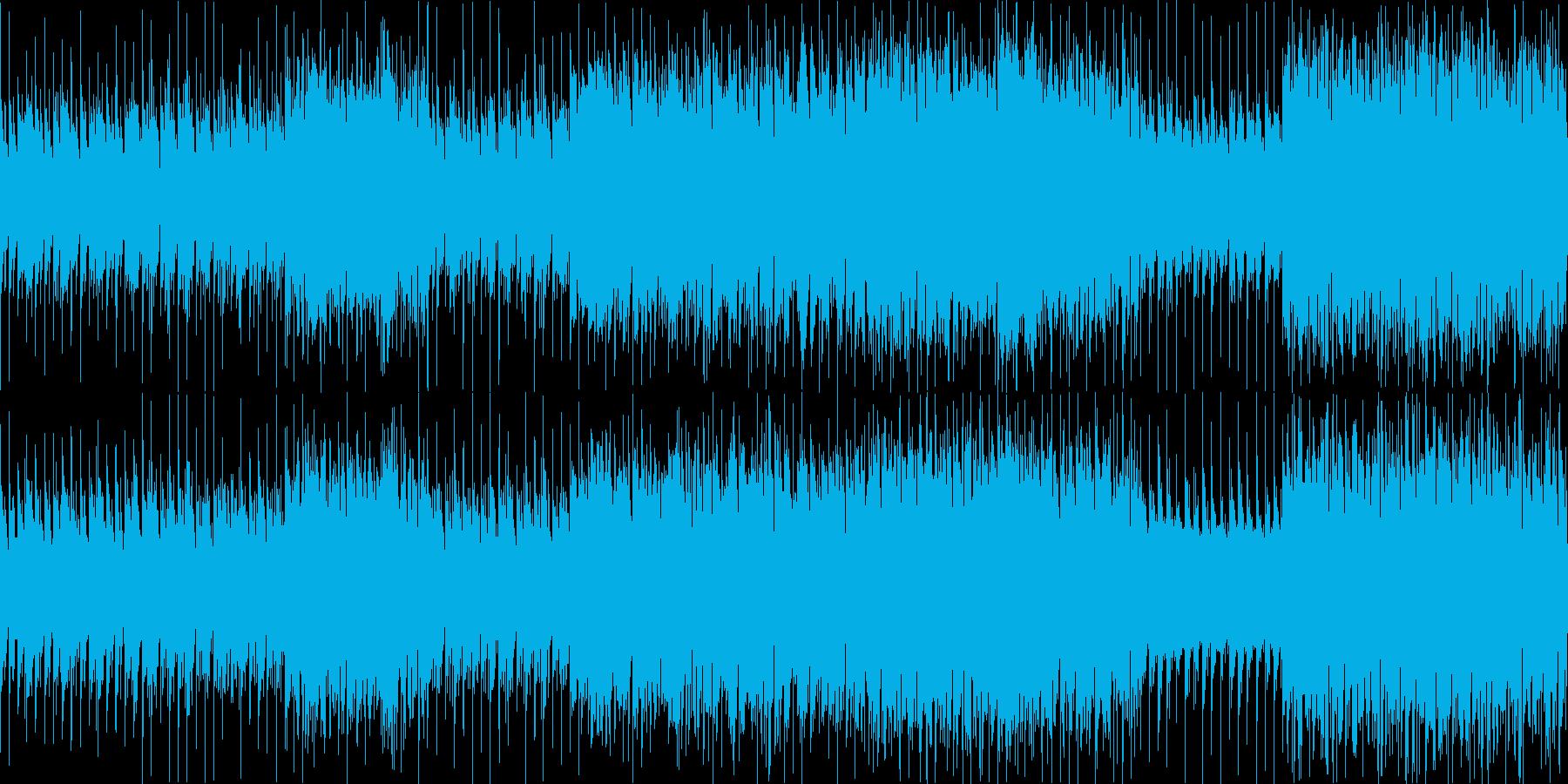 【ループ用】ダンジョン等、ゲームBGMの再生済みの波形