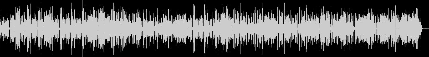 ジ・エンターテイナーの未再生の波形