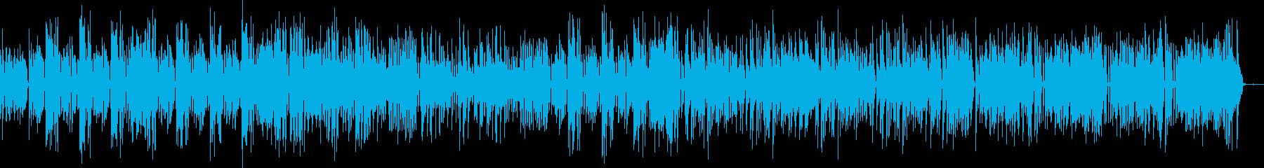 ジ・エンターテイナーの再生済みの波形