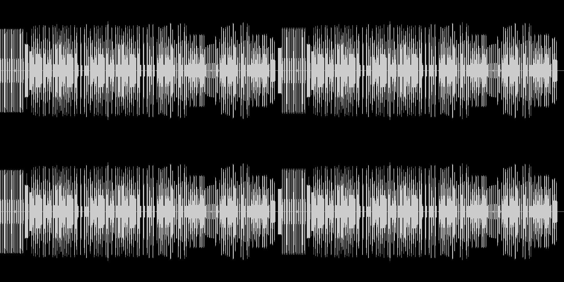 8bitファミコン風パズル・アクションの未再生の波形