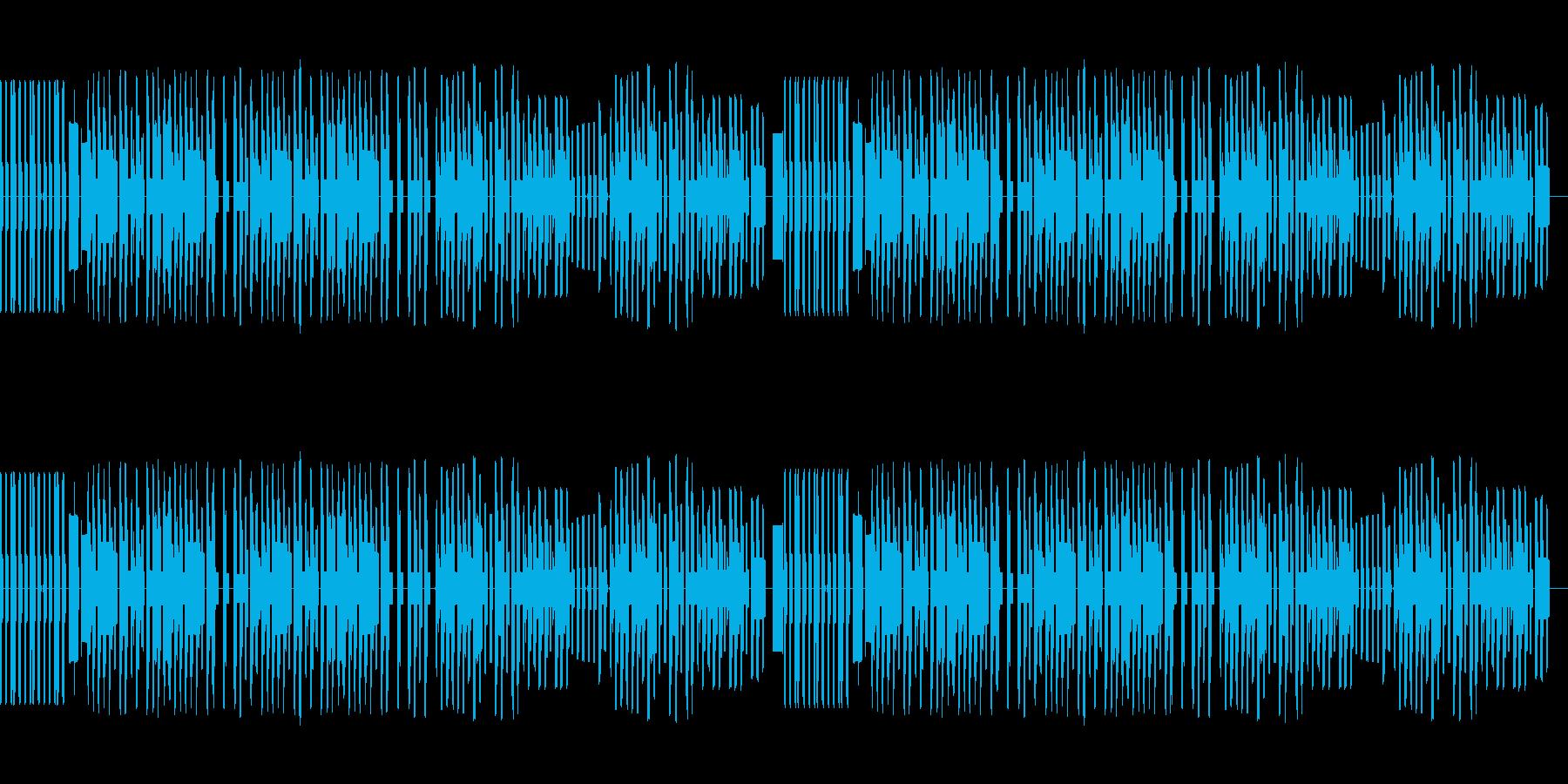 8bitファミコン風パズル・アクションの再生済みの波形