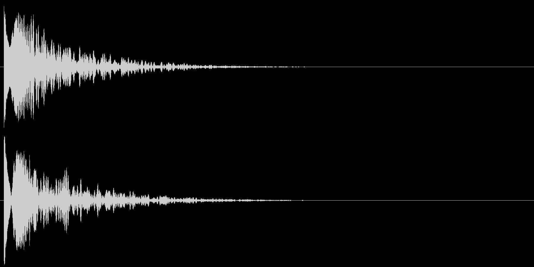 ップィーンの未再生の波形