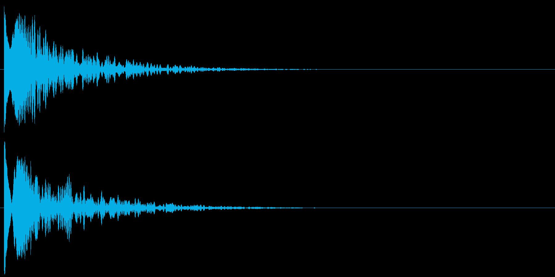 ップィーンの再生済みの波形