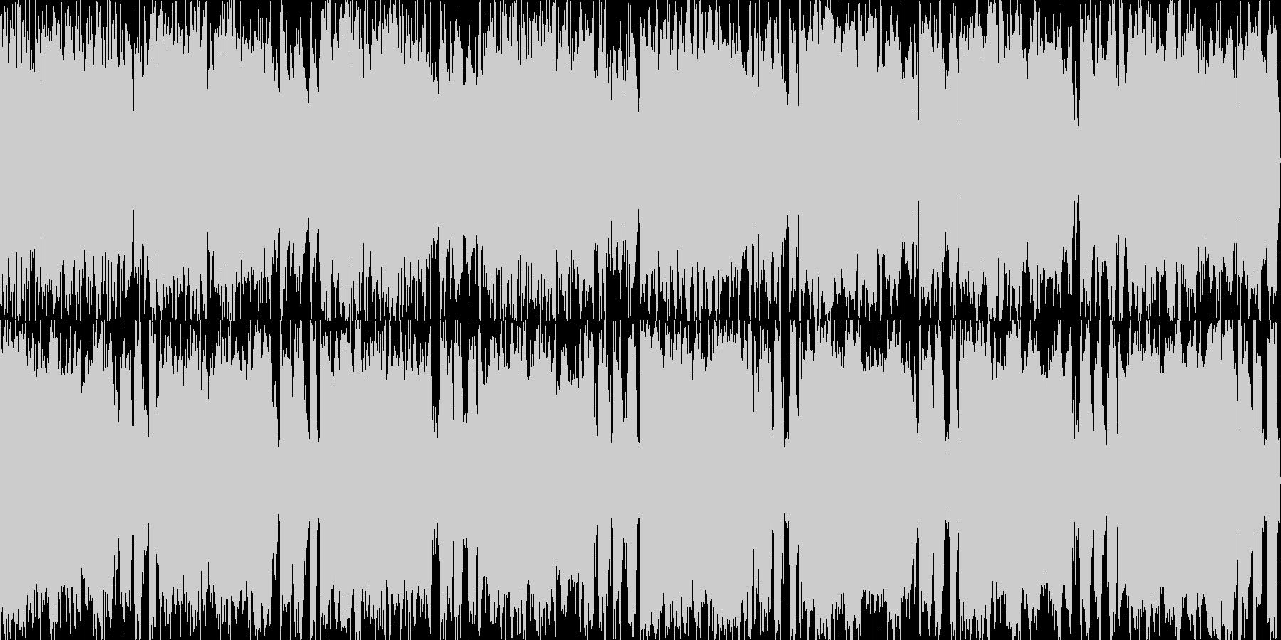 8bitピコピコ(つなぎ2)の未再生の波形