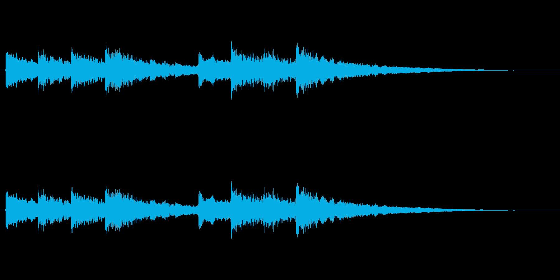 【チャイム 学校04-2】の再生済みの波形