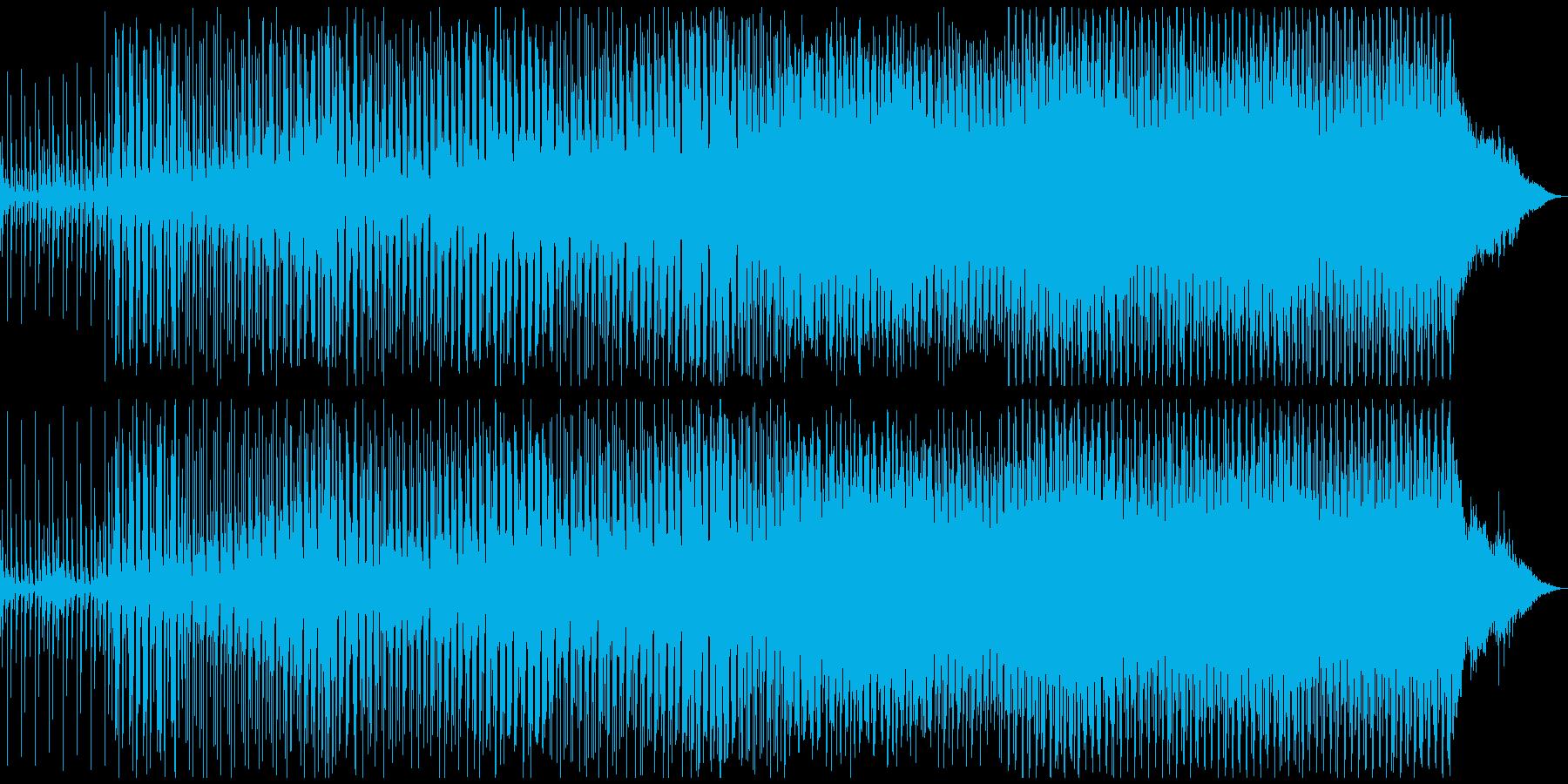 切なイイ感じ♫ EDM Track09の再生済みの波形