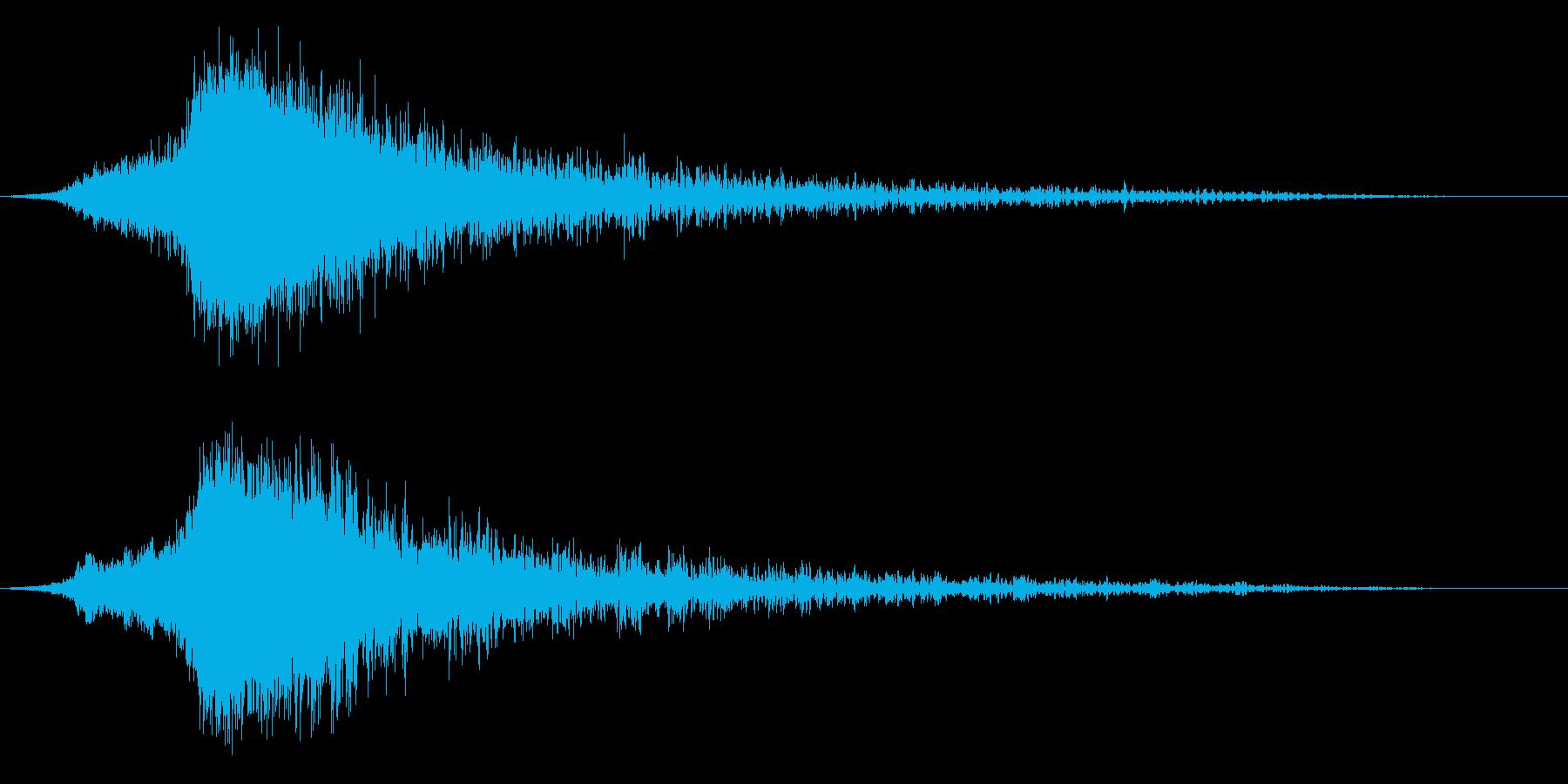 シャキーン♪クリア,達成,回復に最適6cの再生済みの波形