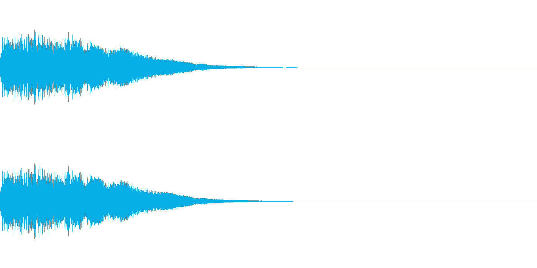 刀、剣、ロボット足音、機械音の再生済みの波形