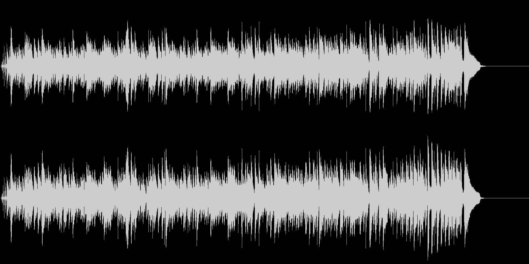 大人の情報番組向けの小粋なピアノ・ジャズの未再生の波形