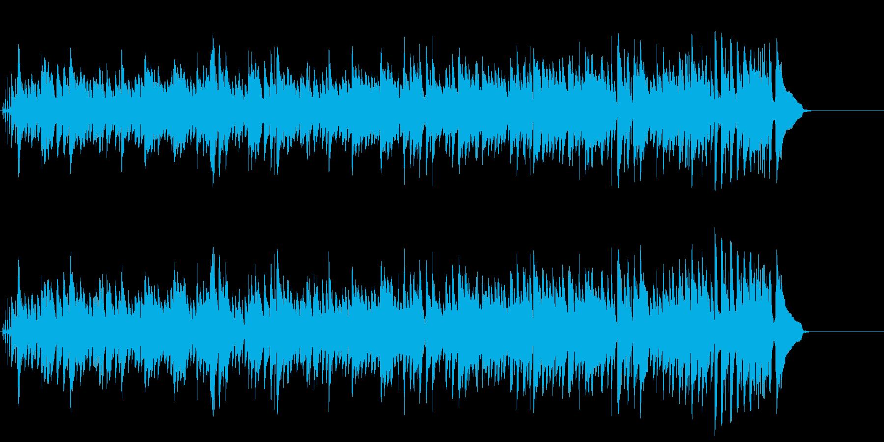大人の情報番組向けの小粋なピアノ・ジャズの再生済みの波形