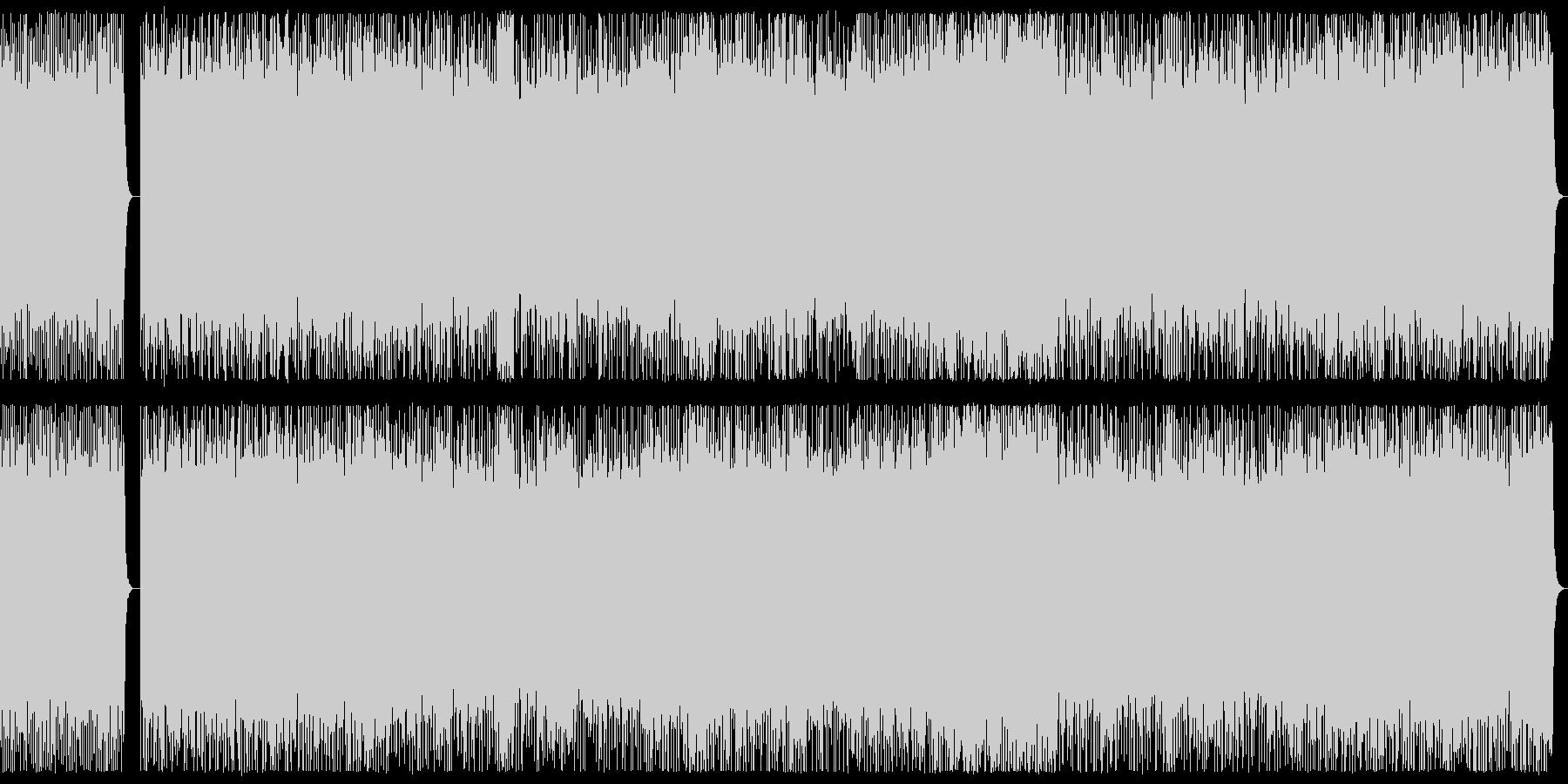 ヘビーメタル戦闘曲 ダークフィールドの未再生の波形