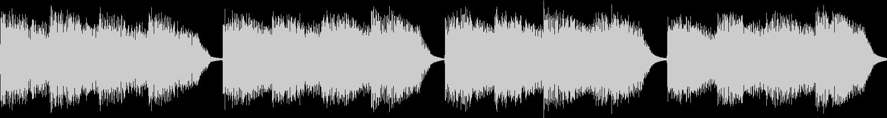 シンセ サイレン アナログ ピコピコ04の未再生の波形