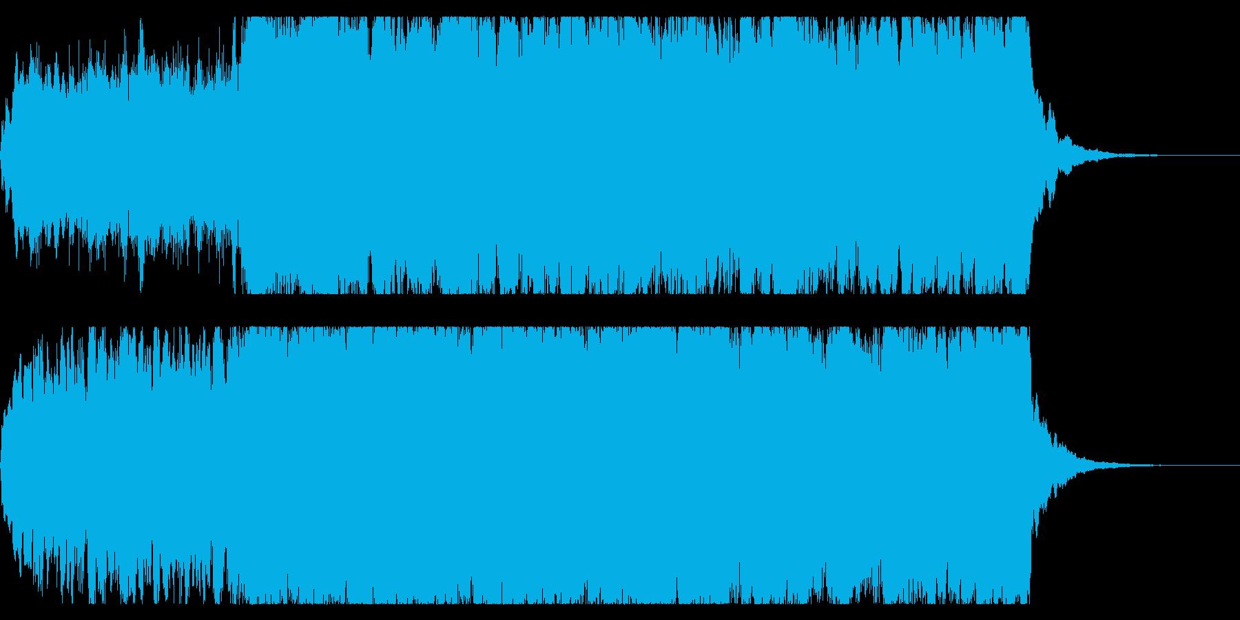 ファンタジックな短い曲 冒険の始まりの再生済みの波形