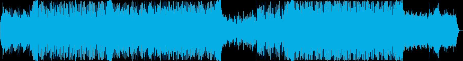 前向きな気分になるEDMの再生済みの波形