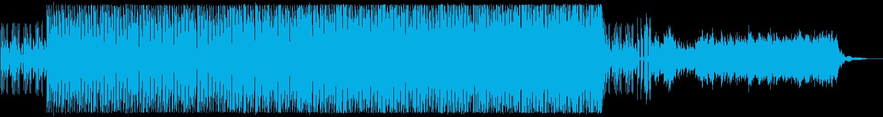 独特な疾走感がある曲。の再生済みの波形