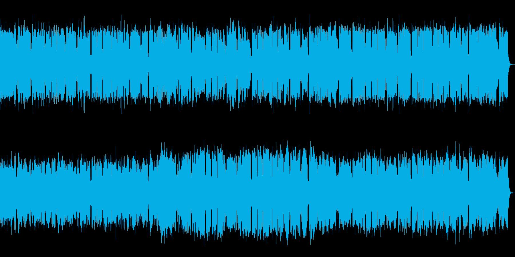 エレP&管楽器のレトロなメロディアス楽曲の再生済みの波形