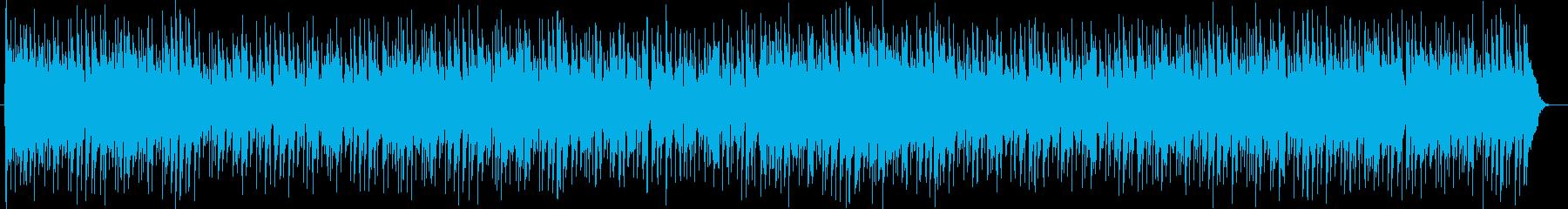 幻想的で爽やかなシンセポップスの再生済みの波形