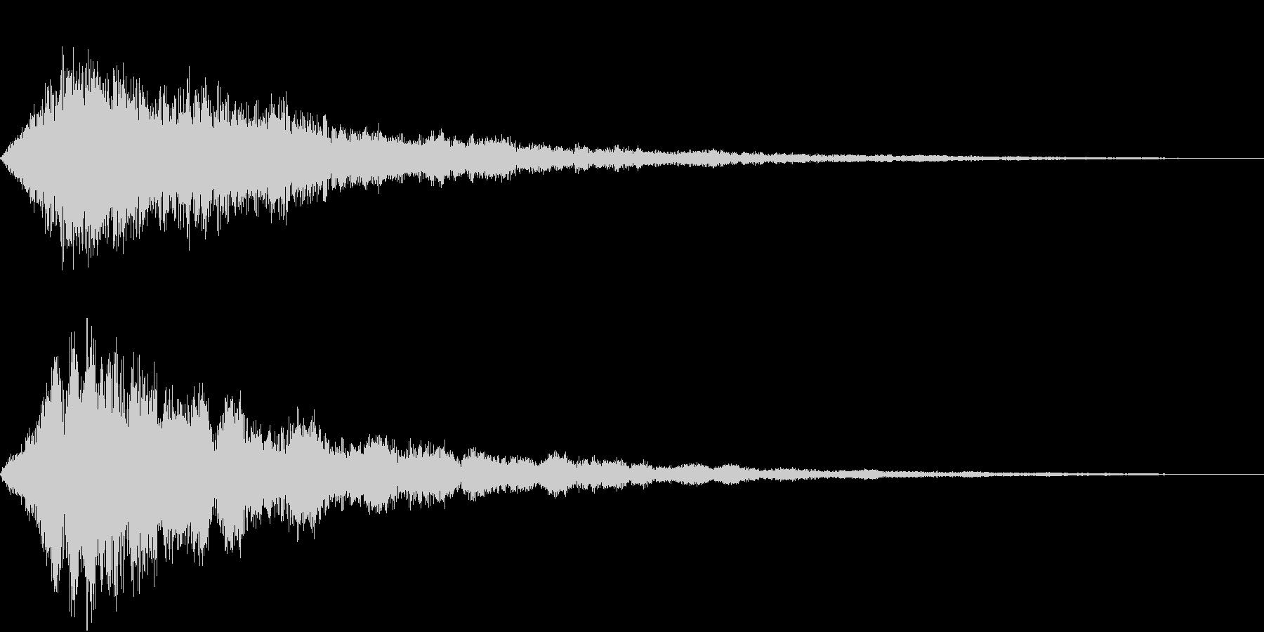 VOX ダーティーなコーラスPAD 2の未再生の波形