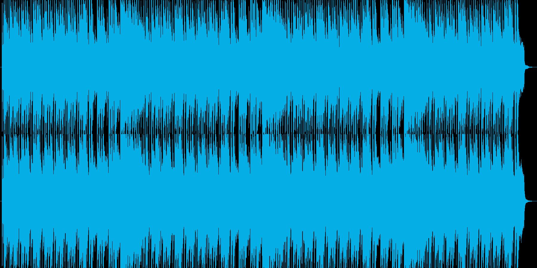 ハロウィンの不思議で怪しげな音楽の再生済みの波形