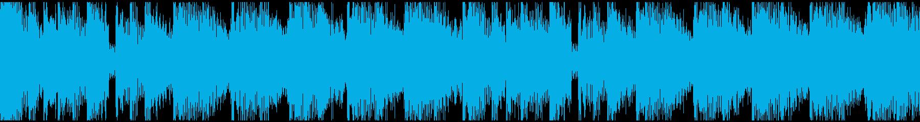 bpm158Loopの再生済みの波形