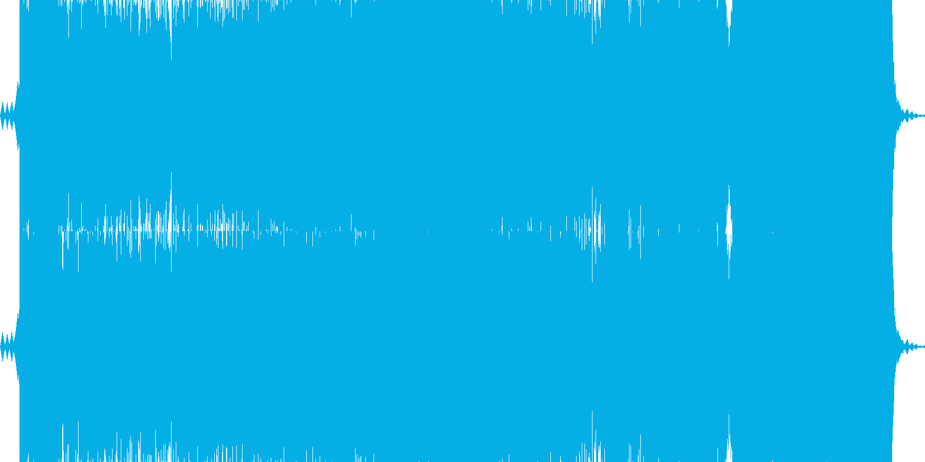 バラード調のピアノトランスです海辺のイ…の再生済みの波形